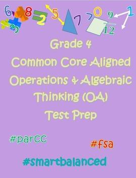 Common Core 4th Grade Operations & Algebraic Thinking (OA)