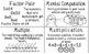 CCSS 4th Grade Operations & Algebraic Thinking Word Wall P