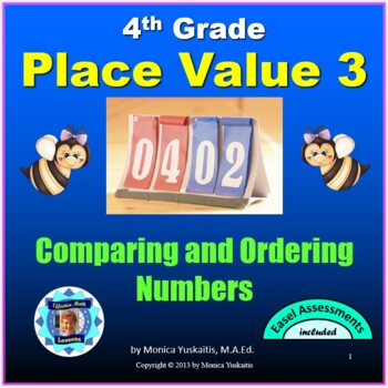 Common Core 4th - Place Value 3 - Comparing Numbers