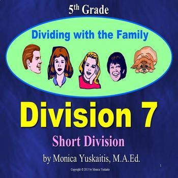 Common Core 5th - Division 7 - Short Division