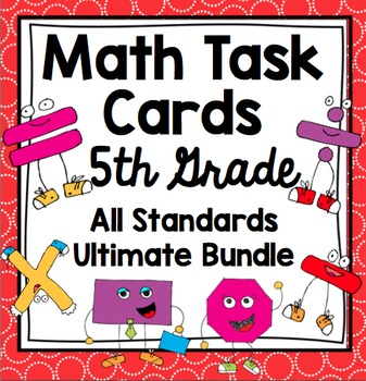 Math Task Cards - 5th Grade