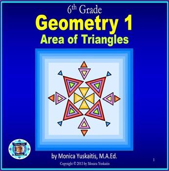 Common Core 6th - Geometry 1 - Area of Triangles