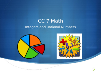 7.NS Common Core 7 Math Unit 1 The Number System Powerpoin