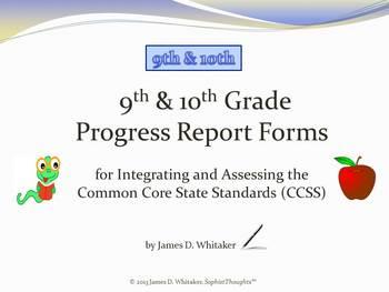 Common Core 9-10th Grade English Standards Cumulative Prog