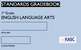 Common Core Academic Standards Gradebook 1st Grade English