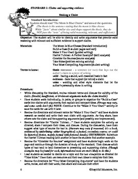 Common Core Activity Pack #1 Gr. 6-12- Anchor Writing (sup
