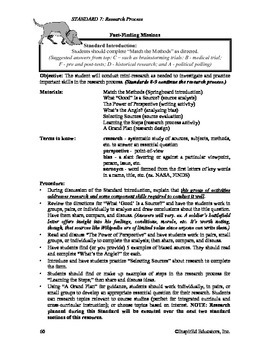 Common Core Activity Pack #7 Gr. 6-12- Anchor Writing (the