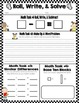 Common Core Addition & Subtraction Activities
