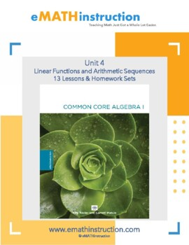 Common Core Algebra I - Unit #4.Linear Functions and Arith