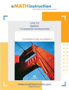 Common Core Algebra II - Unit #13 Statistics