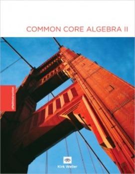 Common Core Algebra II - Unit #8 Answer Key