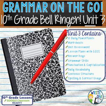 GRAMMAR & VOCABULARY PROGRAM - 10th Grade - Standards Base