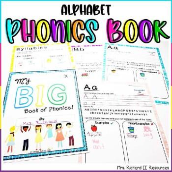 Alphabet and Phonics Book
