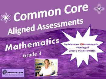 Common Core Aligned Assessment Bank Mathematics Grade 3