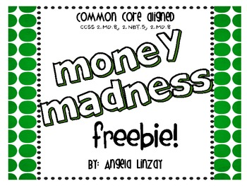 Common Core Aligned Counting Money and Making Change FREEBIE!