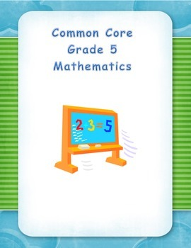 Common Core Aligned Fifth Grade Decimals - Division