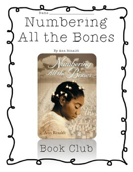 Common Core Aligned Guided Reading, Numbering all the Bone