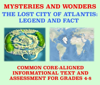 Mysteries and Wonders Passage and Assessment #14: Atlantis