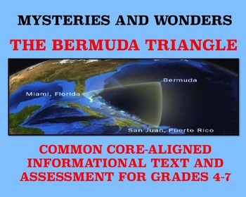 Mysteries and Wonders Passage and Assessment #2: The Bermu