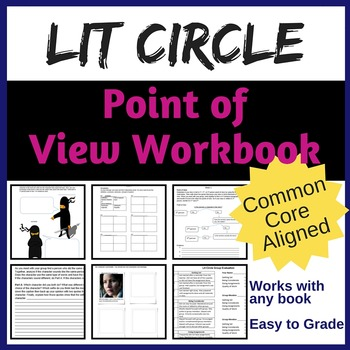 Literature Circle Workbook for Point of View {Common Core