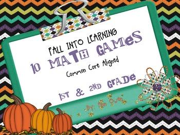 Common Core Aligned Math Games--1st & 2nd Grade