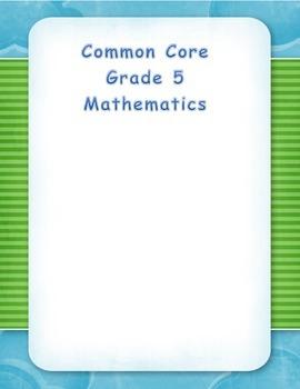 Common Core Aligned Math Resource - Decimals