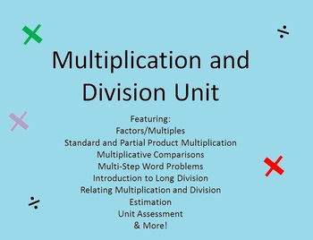 Common Core Aligned Multiplication Unit with Differentiate