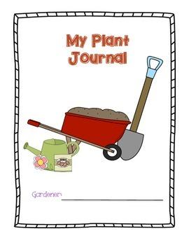 Common Core Aligned Plant Journal--Super Fun!