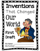Common Core Aligned {Shared Research} Famous Inventions Report