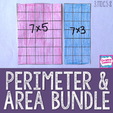 Area and Perimeter Lessons and Activities Bundle