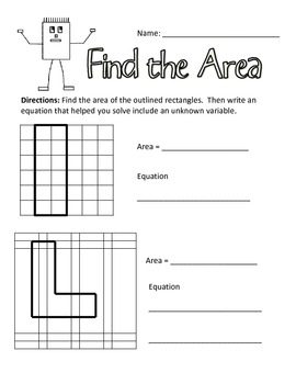Common Core: Area of Rectilinear Shapes