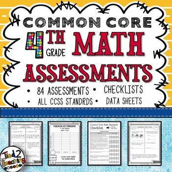 Common Core Assessments - 4th Grade
