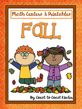 Autumn (Fall) Math Alligned to Common Core