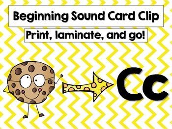 Common Core Beginning Sound Clip It!