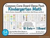 Common Core Board Game Pack {Kindergarten Math}