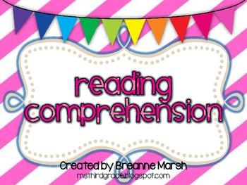 Common Core Bundle: Reading Strategies Printables & Graphi