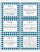 Common Core CCSS 3rd Grade Math Labels and Posters-Gingham