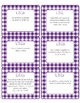Common Core CCSS 5th Grade ELA Labels and Posters-Gingham