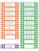 Common Core CCSS Kindergarten ELA Labels and Posters-Gingh