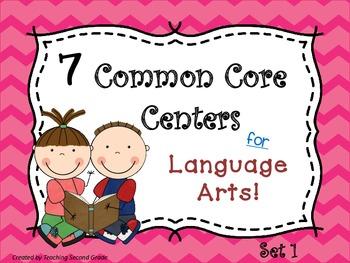 Language Arts Centers
