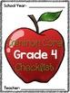 Common Core Checklist: Grade 4
