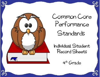 Common Core Checklist (Individual Student Assessment Check