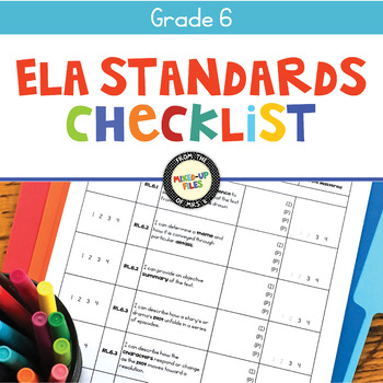 Common Core Checklist 6th Grade ELA