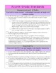 Common Core Checklist for Teachers: Grades 3-4 Math