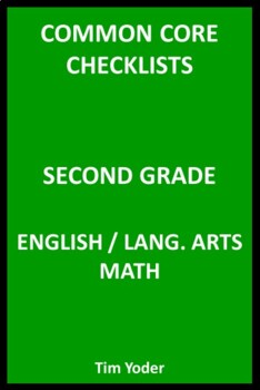 Common Core Checklists – Second Grade English/Language Art