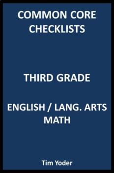 Common Core Checklists – Third Grade English/Language Arts