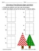 Common Core Christmas Tree Double Digit Addition - CCSS 1.