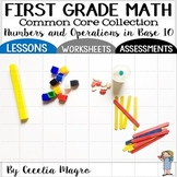 First Grade Math  *Numbers and Operations in Base Ten* 1st Grade