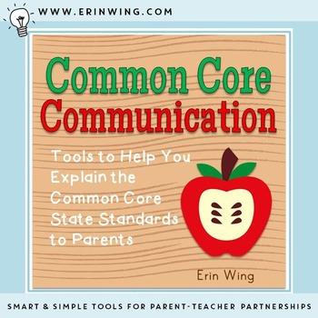 Common Core Communication