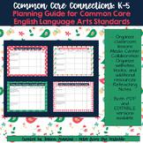 Common Core Connections: Kindergarten ELA Common Core Less